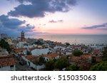 downtown puerto vallarta at... | Shutterstock . vector #515035063