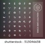 medical icon set vector | Shutterstock .eps vector #515046658