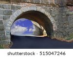 tunnel to the clouds | Shutterstock . vector #515047246