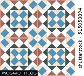 decorated vintage mosaic... | Shutterstock .eps vector #515053894