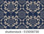 seamless ornament on background.... | Shutterstock .eps vector #515058730