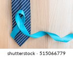 blue ribbon symbolic of... | Shutterstock . vector #515066779