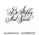 black and white handwritten... | Shutterstock .eps vector #515086420
