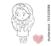 vector illustration of sad...   Shutterstock .eps vector #515103088