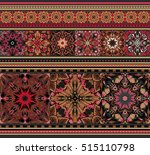 rich ethnic striped seamless... | Shutterstock .eps vector #515110798