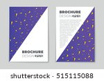 abstract vector layout... | Shutterstock .eps vector #515115088