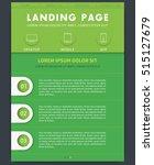 landing page concept  website...