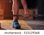 closeup of male hand holding... | Shutterstock . vector #515129368