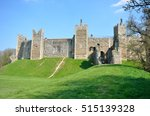 Framlingham Castle With Grass