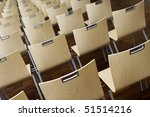 chair in order - stock photo