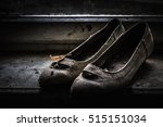 Vintage Women Shoes. Old Lost...