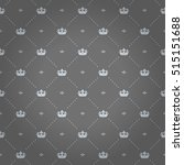 luxury regal seamless pattern... | Shutterstock .eps vector #515151688