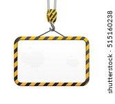 vector building frame with hook ... | Shutterstock .eps vector #515160238
