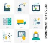 industry 4.0  business ... | Shutterstock .eps vector #515177230