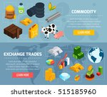 commodity horizontal banners... | Shutterstock .eps vector #515185960