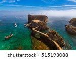 fort in berlenga island  ... | Shutterstock . vector #515193088