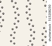 seamless pattern of cat... | Shutterstock .eps vector #515208250
