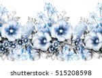 isolated seamless pattern... | Shutterstock . vector #515208598