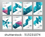 brochure template  flyer design ... | Shutterstock .eps vector #515231074