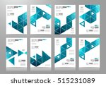 brochure template  flyer design ... | Shutterstock .eps vector #515231089