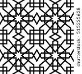abstract pattern in arabian... | Shutterstock .eps vector #515235628