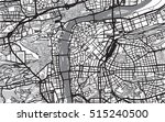 urban city map of prague | Shutterstock .eps vector #515240500