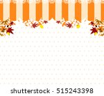 lace and maple frame   Shutterstock .eps vector #515243398