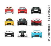 cars icons set vector... | Shutterstock .eps vector #515245234