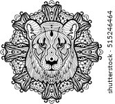 Totem Coloring Page For Adults...