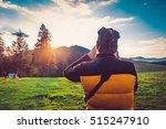 nature photographer tourist... | Shutterstock . vector #515247910