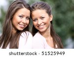 twins of sister | Shutterstock . vector #51525949