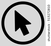 mouse pointer vector rounded...