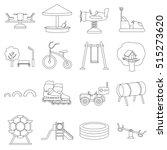 play garden set icons in...   Shutterstock .eps vector #515273620