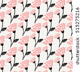 seamless repeat flowers pattern ... | Shutterstock .eps vector #515275216