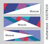 abstract vector layout... | Shutterstock .eps vector #515278114