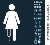 patient woman icon and bonus... | Shutterstock .eps vector #515283076