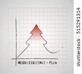 merry christmas tree on...   Shutterstock .eps vector #515291314