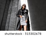 high fashion portrait of young... | Shutterstock . vector #515302678