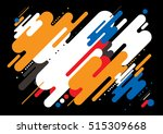 vector of modern abstract... | Shutterstock .eps vector #515309668