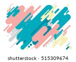 vector of modern abstract... | Shutterstock .eps vector #515309674
