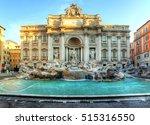 rome  fountain di trevi  italy | Shutterstock . vector #515316550