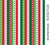 Christmas Stripe Pattern...
