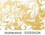 golden vector texture. inky... | Shutterstock .eps vector #515324134