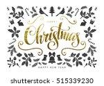 Christmas Postcard With ...