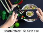 taking photo of chicken and...   Shutterstock . vector #515345440