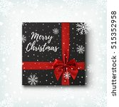merry christmas greeting card... | Shutterstock . vector #515352958