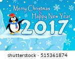 festive merry christmas with... | Shutterstock .eps vector #515361874