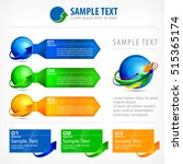 infographic elements and text... | Shutterstock .eps vector #515365174