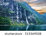 Geiranger Fjord  Norway ...