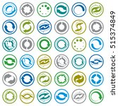 reload icons isolated on white...